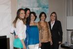 Letícia Frare, Sueli Adorni, Dani Cortez, Lili Baptista e Maria Paula Vial