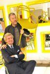 Philippe Starck e Claudio Luti