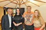 JOAO SACCARO, SUELI ADORNI, SERGIO DE OLIVEIRA E DANIELA COLNAGHI