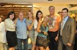 RITA DE CASSIA CAMILO, TONINHO LOPES, ANDREA PILAR, LUCI ROSSET, GINA ELIMELEK, SERGIO DE OLIVEIRA E ADHEMUR PILAR