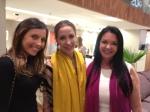 Letícia Frare, Paola de Orleans e Gragança e Sueli Adorni